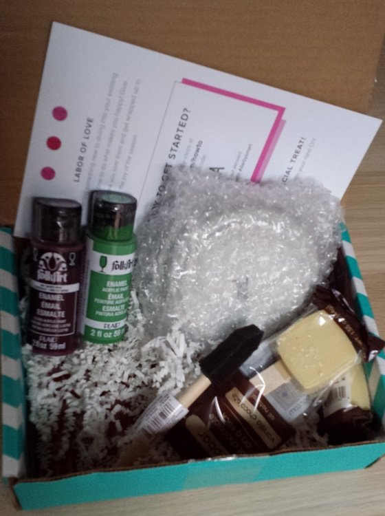 Darby Smart To DIY For Subscription Box Review – Feb 2015 Inside