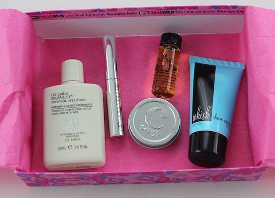 Birchbox Review April 2015 - Mad Men New York Box Items