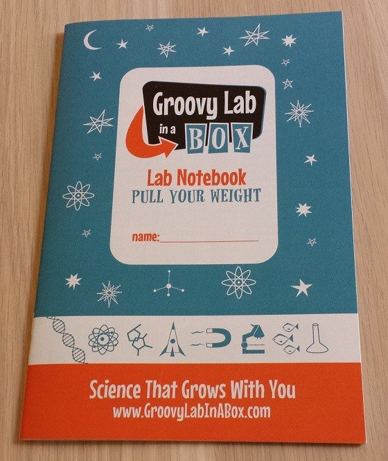 Groovy Lab in a Box Subscription Box Review – February 2015 Notebook