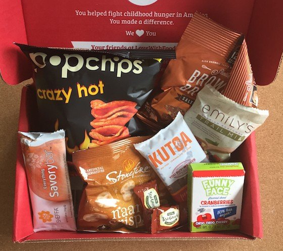Love with food box coupons