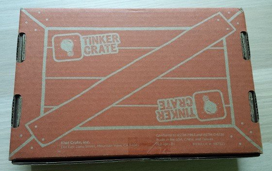 Tinker Crate Subscription Box Review & Coupon – April 2015 Box