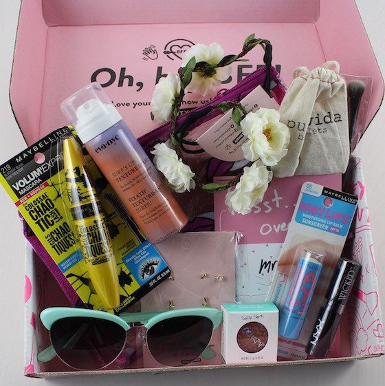 BeautyCon BFF Beauty Subscription Box Review - August 2015 Items