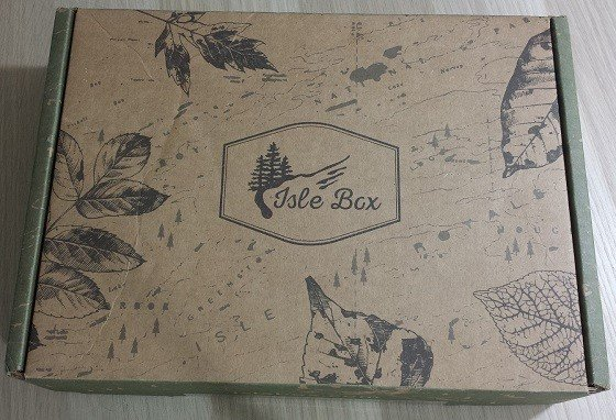 Isle Box Subscription Review September 2015 - box