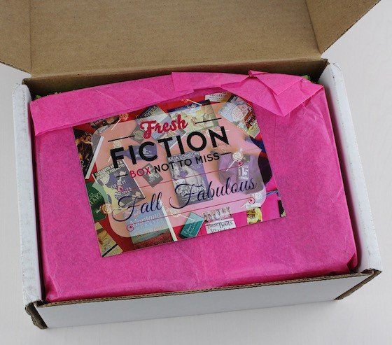 Fresh Fiction Book Subscription Box Review – August 2015 Box