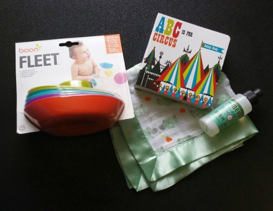 Citrus Lane Subscription Box Review & Coupon October 2015 - all items