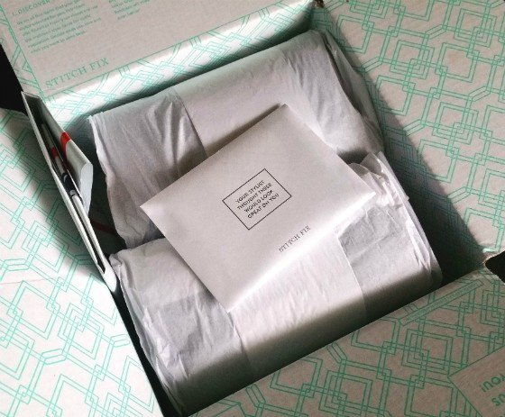Stitch Fix Review October 2015 - packaging