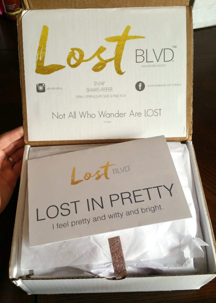 LOST BLVD MAY 2016 REVIEW - PACKAGING