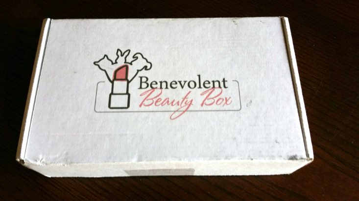BENEVOLENT BEAUTY JUNE 2016 - BOX