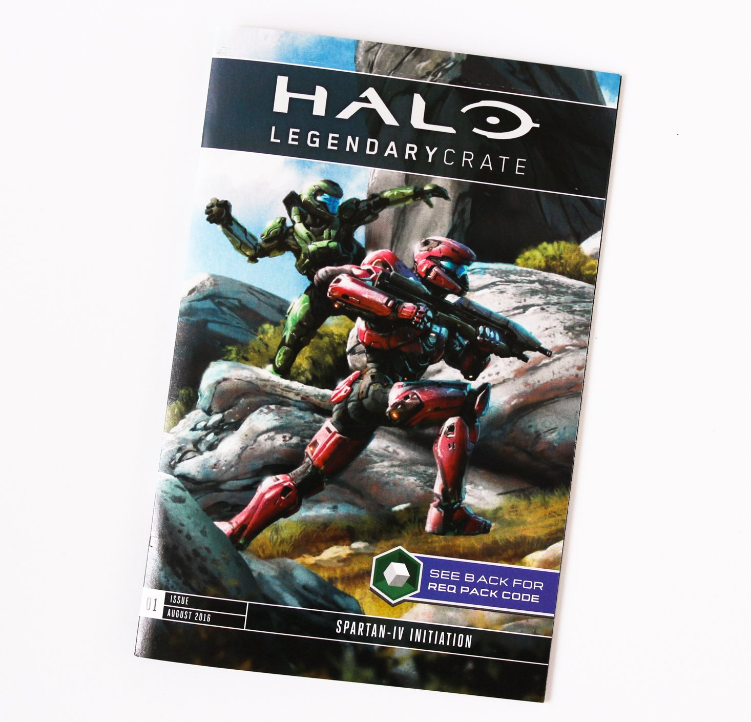 Halo Legendary Crate August 2016 - 6