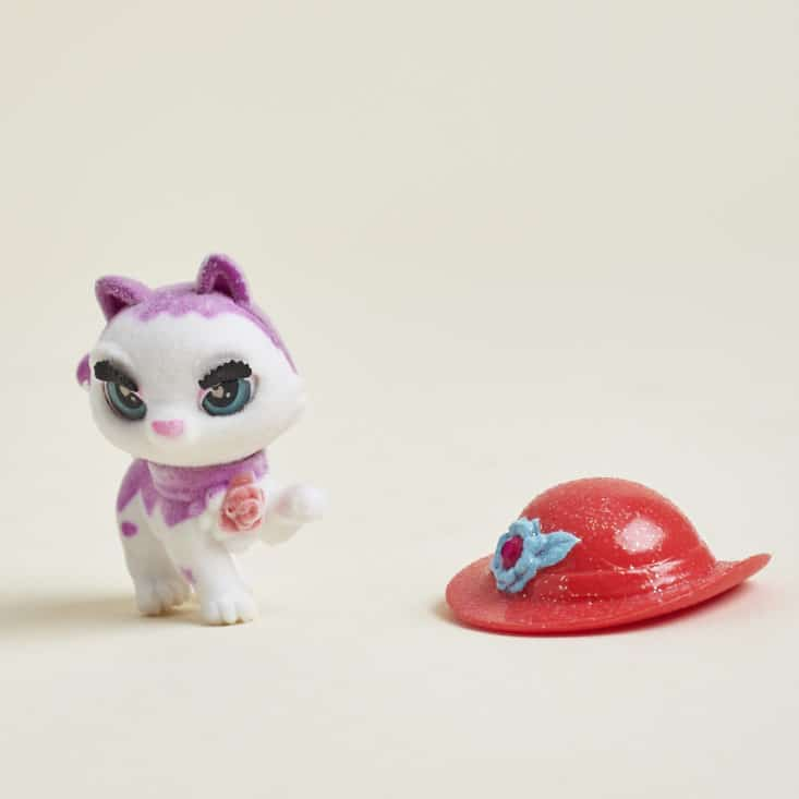 Egg Drop May 2017 - kitty figure with removable hat