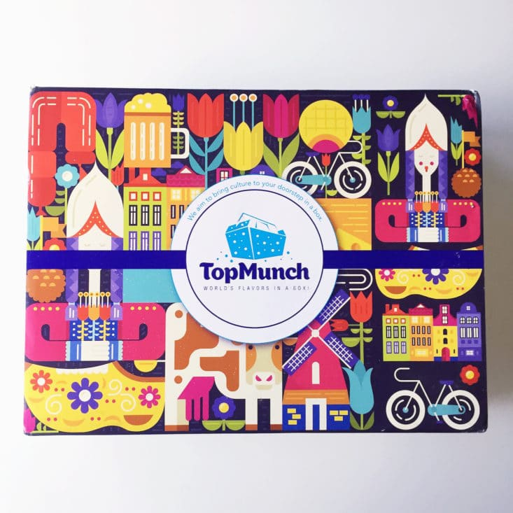 TopMunch June 2017 Snack Subscription Box
