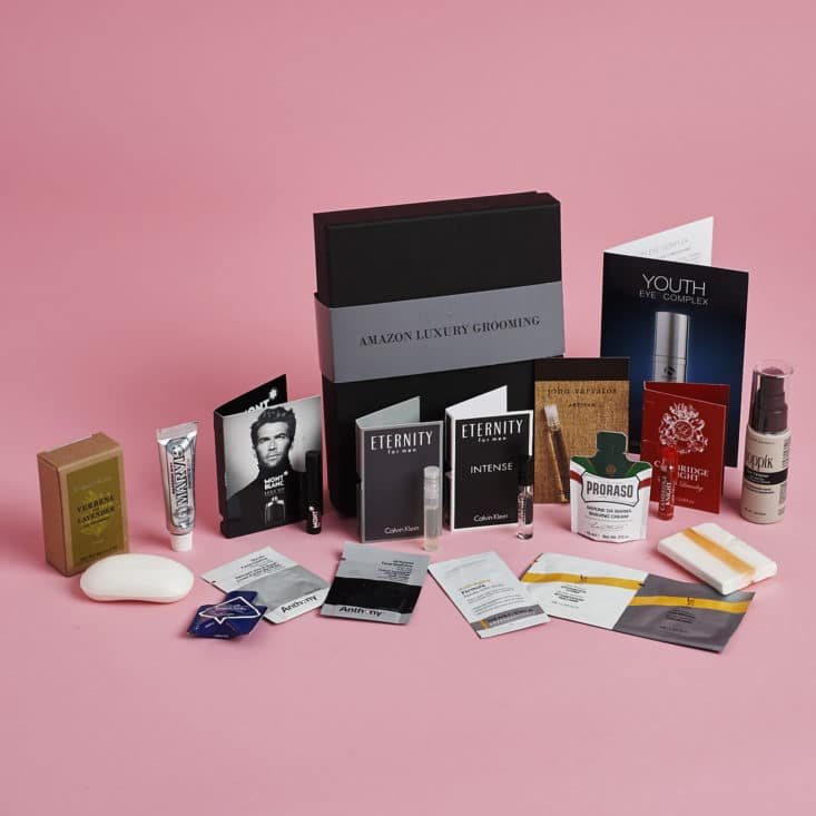 Amazon Luxury Grooming Mens June 2017 Box
