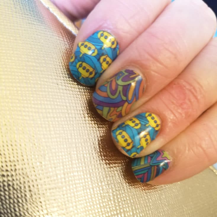 Nexus Nail Wraps June 2017 Box