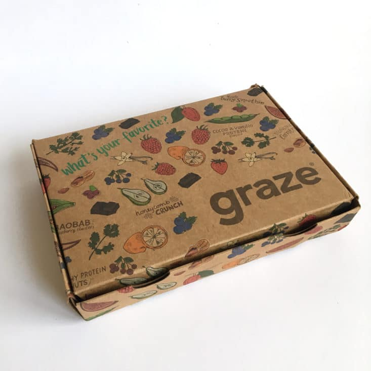 Graze Sweet Treat August 2017 Snack Subscription Box