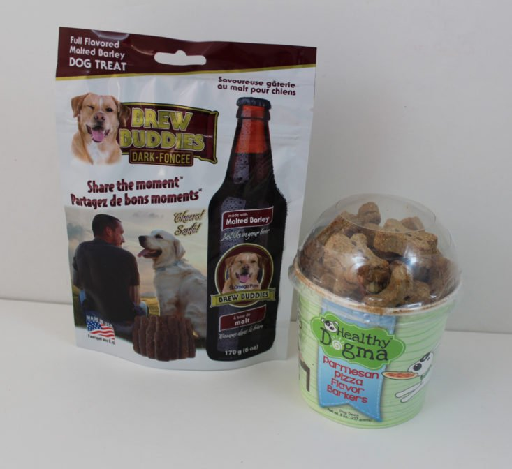 Check out the toys in the September Pet Treater subscription box for dogs!