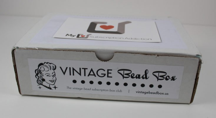 Vintage Bead Box October 2017 Crafting and DIY Subscription Box