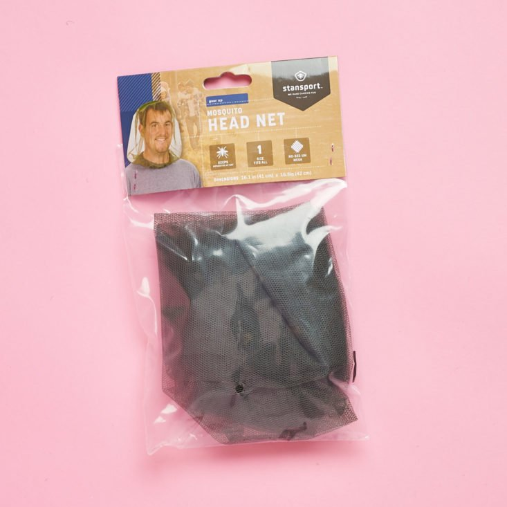 Stansport Mosquito Head Net packaged