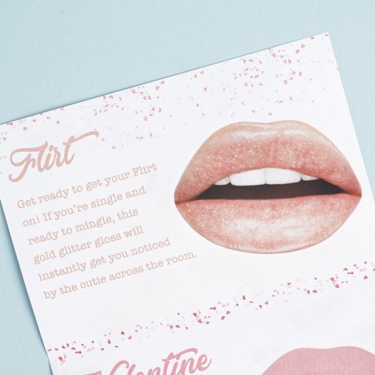 Flirt info card