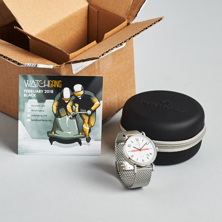 effb4ee53808 Watch Gang is a watch subscription service that sends a new watch for you  to keep each month. Each month they partner with a brand for their watches