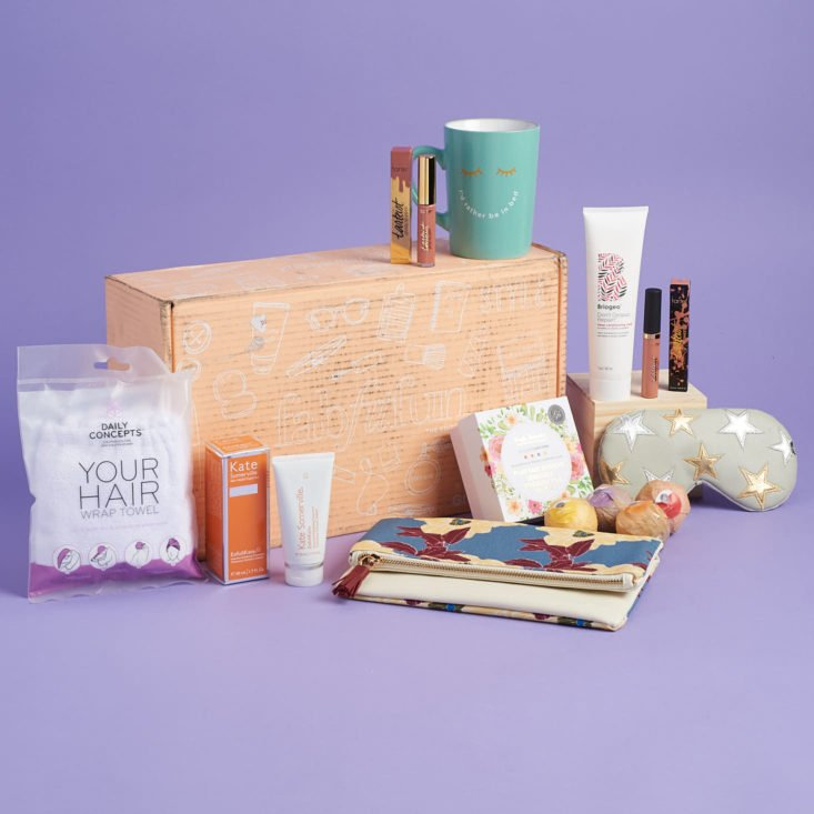 fabfitfun subscription box lifestyle self care and beauty subscription box