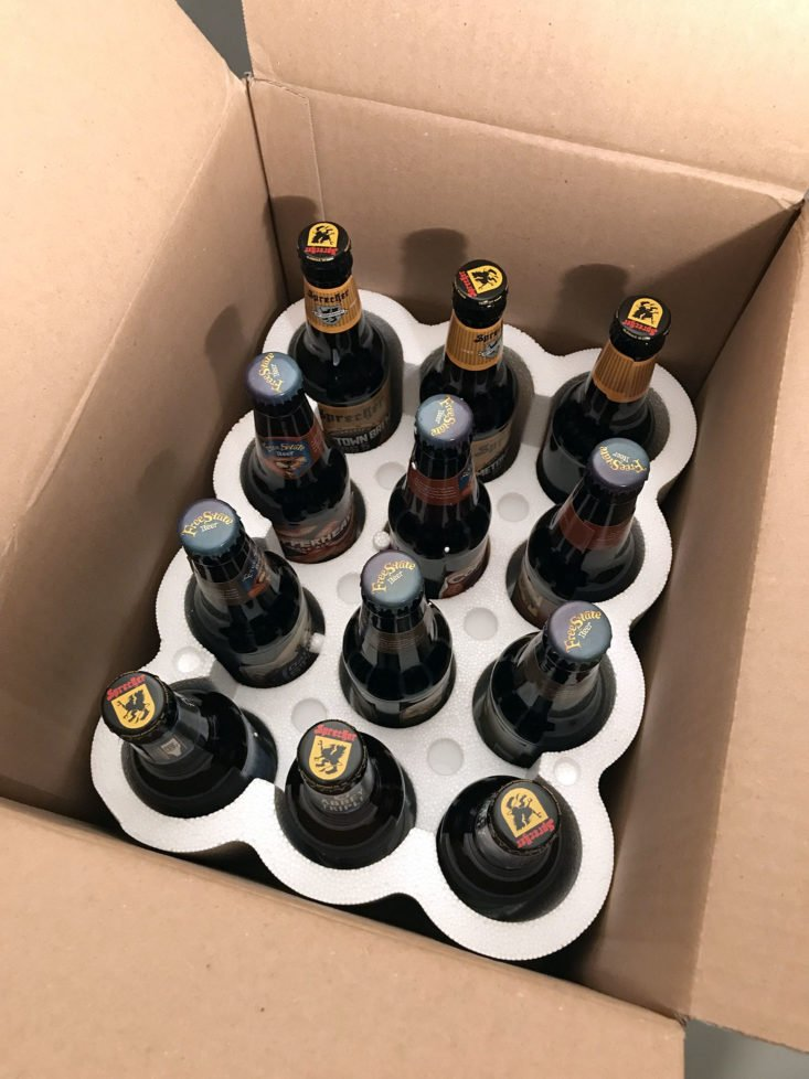 Microbrewed Beer of the Month February 2018 - Box Opened Product