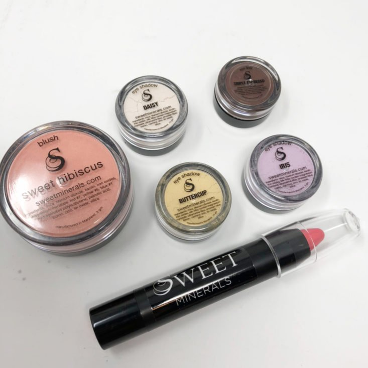 Sweet Minerals Glam Club May 2018 Review