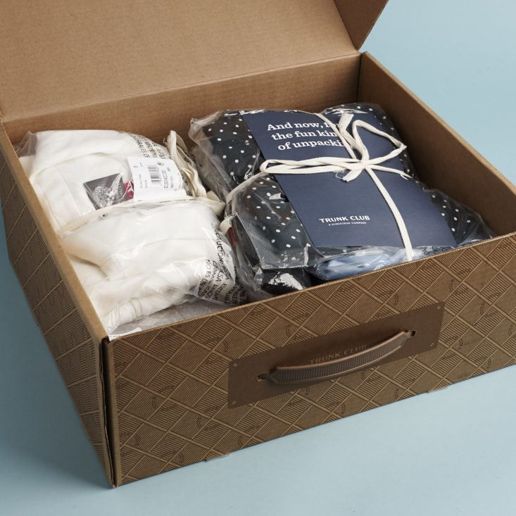open Trunk Club box