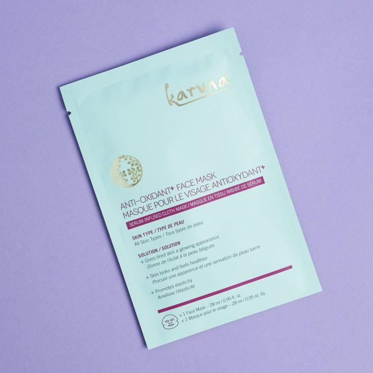 causebox summer karuna mask packet