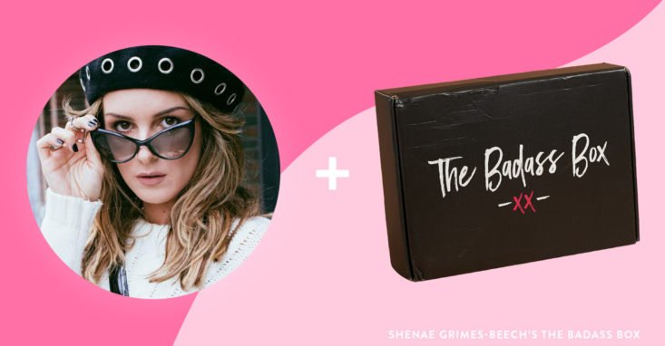 9 celebrity subscription boxes shenae grimes 90210 badass box
