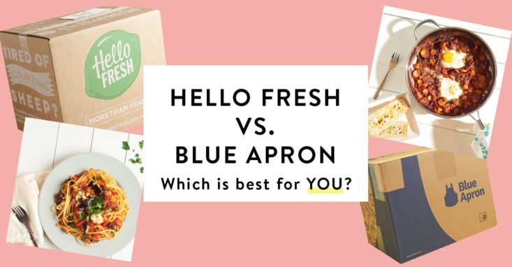hello fresh vs. blue apron