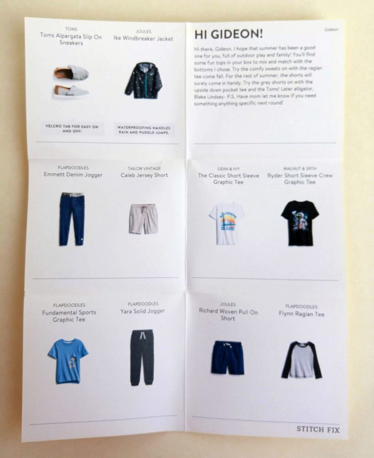 stitch fix kids items info 1