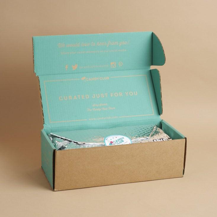 open Candy Club box