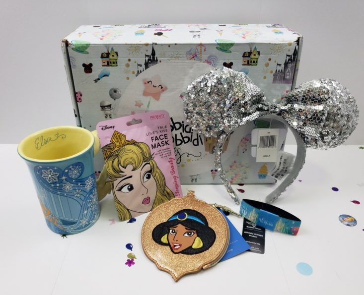BIBBIDI BOBBIDI BOXES October 2018 - Box Products Front