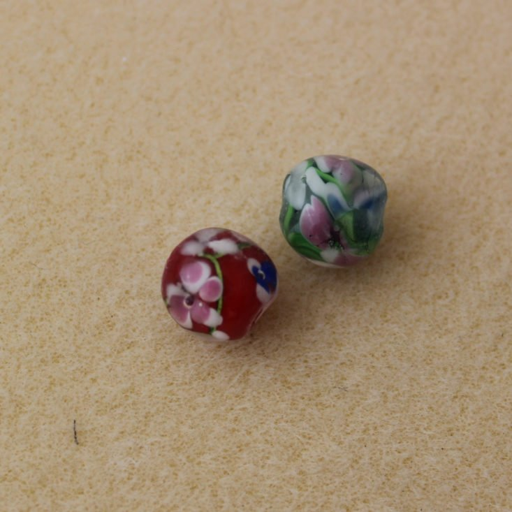 Dollar Bead Box November 2018 Review - Handmade Chinese Lampwork Top