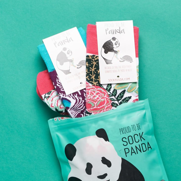 Sock Panda Women socks unboxing
