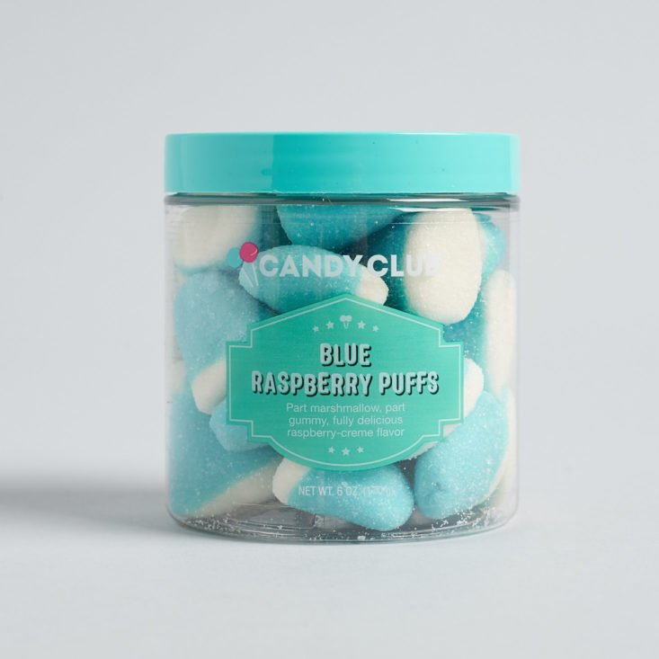 Candy Club January 2019 blue raspberries