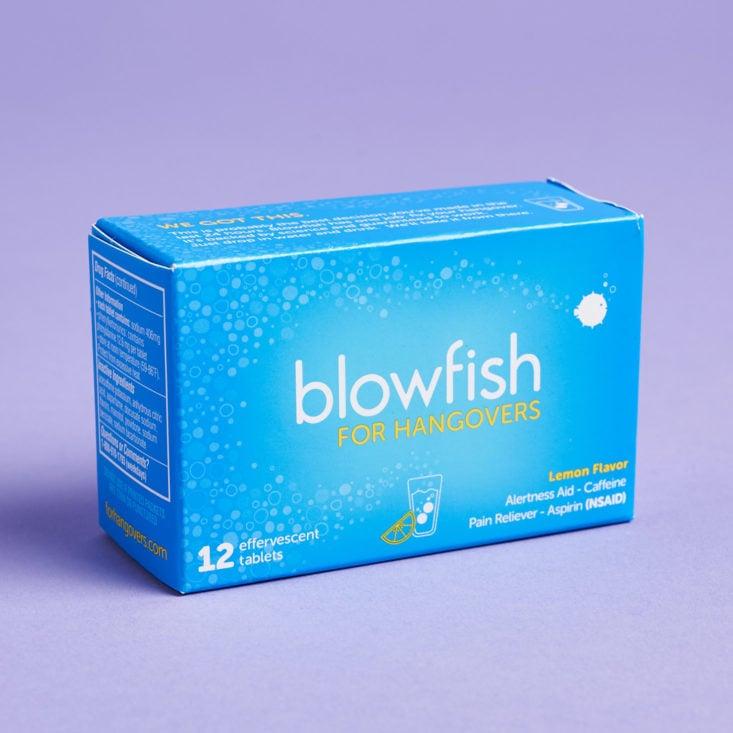 Cosmo Box January 2019 blowfish tablet box