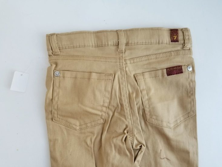 Kid Box 3T Boys January 2019 khaki jeans back