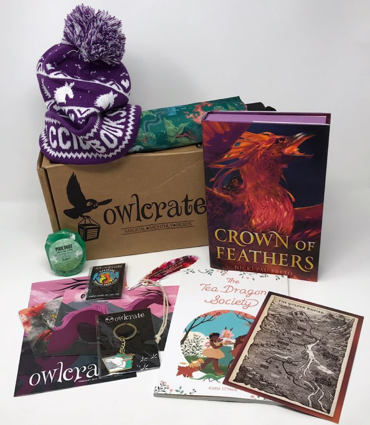 owlcrate YA box best book subscription boxes of 2019 readers' choice