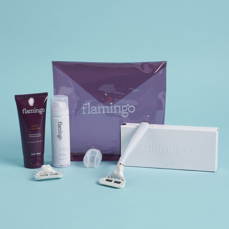 Flamingo Razor Starter Set