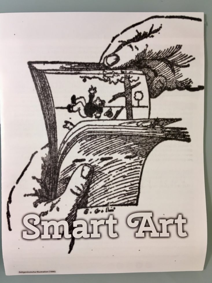 Smart Art December 2018 - Info Cover Top