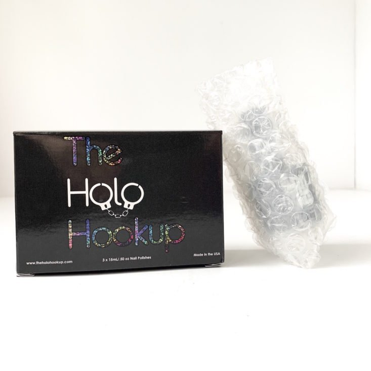 The Holo Hookup March 2019 - Box Open Front