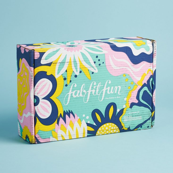 Fity Fab Fit: FabFitFun Spring 2019 Editor's Box Review + $20 Coupon