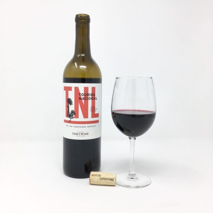 Winc Wine of the Month Review March 2019 - 2017 Far + Wide Touriga Nacional Open Front