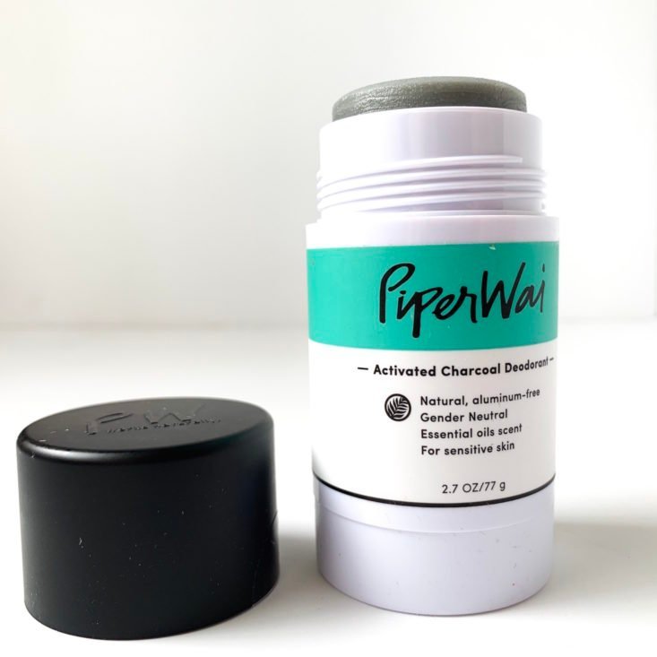 Yogi Surprise Review March 2019 - Piper Wai Natural Deodorant Uncapped Top