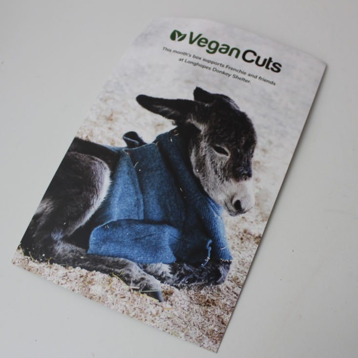 Vegan Cuts Beauty May 2019 - Booklet Front