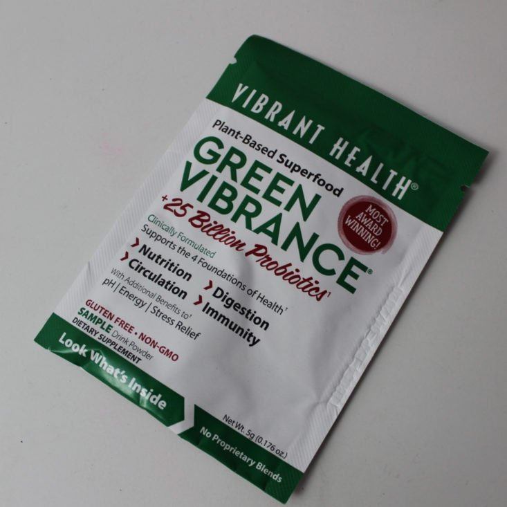 Bulu Box Weight Loss June 2019 - Vibrant Health Green Vibrance Plant-Based Superfood