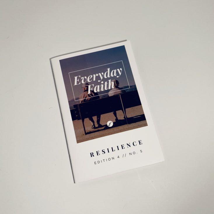 "Faithbox ""Resilience"" Review May 2019 - Everyday Faith 1 Top"