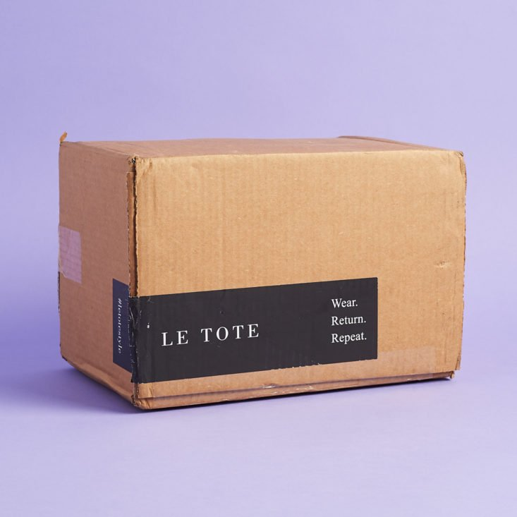Le Tote June 2019 Review