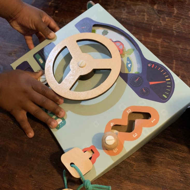 "Tadpole Crate ""Ride With Me"" May 2019 Review -Steering Wheel 2a"
